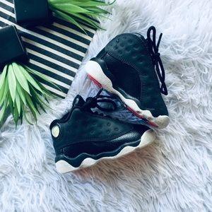 Air Jordan 13 Retro Pink Black Baby Sneakers